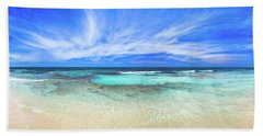 Bath Towel featuring the photograph Ocean Tranquility, Yanchep by Dave Catley