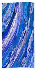 Ocean Wave Bath Towel