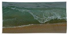 Ocean Wave Bath Towel