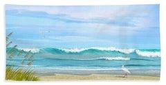 Oceanic Landscape Hand Towel
