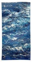 Ocean's Blue Bath Towel
