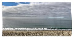 Bath Towel featuring the photograph Ocean's Edge by Kim Nelson