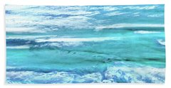 Oceans Of Teal Hand Towel