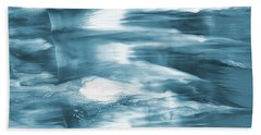 Oceanside- Abstract Art By Linda Woods Hand Towel