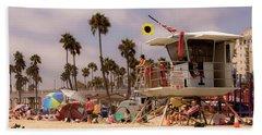Oceanside Beach Hand Towel
