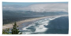 Oceanside Beach Oregon Hand Towel