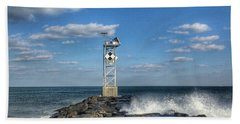 Ocmd Inlet Jetty Tower Bath Towel