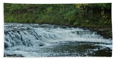 Ocqueoc Falls_9535 Bath Towel by Michael Peychich