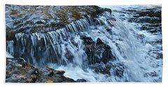 Ocqueoc Falls_9542 Hand Towel by Michael Peychich