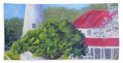 Ocracoke Lighthouse Bath Towel