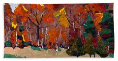 October Forest Hand Towel