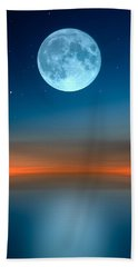 October Moon Hand Towel