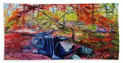 October Riot Bath Towel