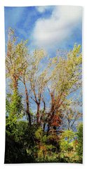October Sunny Afternoon Hand Towel