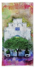 Oddfellows Library Building Hand Towel