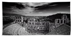 Odeon Of Herodes Atticus Hand Towel by Ian Good