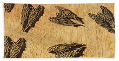 Of Devils And Angels Bath Towel