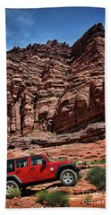 Off Road Adventure Bath Towel