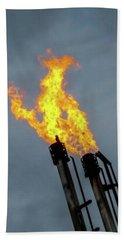 Offshore Flames Bath Towel
