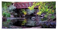 Ogden River Bridge Bath Towel