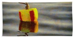 Oh Buoy Hand Towel by Jeff Kolker