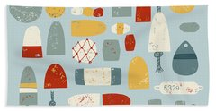 Oh Buoy Hand Towel by Nic Squirrell