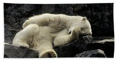 Oh What A Night Polar Bear Bath Towel