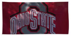 Ohio State Hand Towel by Joseph Yarbrough