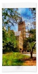 Ohio Wesleyan Chapel Bath Towel