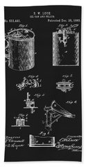 Oil Can Patent Hand Towel