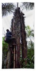Oil Palm Tree Bath Towel