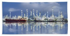 Oil Refinery Industry Plant Hand Towel