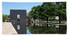Oklahoma City National Memorial Bombing Bath Towel