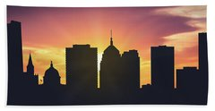 Oklahoma City Sunset Usokoc-pa01 Hand Towel