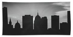 Oklahoma City Sunset Usokoc-pa02 Hand Towel