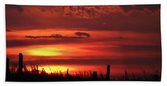 Oklahoma Sky At Daybreak  Hand Towel