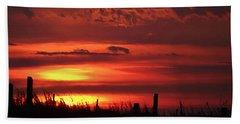Oklahoma Sky At Daybreak  Hand Towel