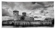 Olavinlinna Castle Bath Towel