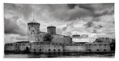 Olavinlinna Castle Bath Towel
