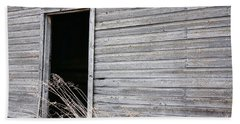 Hand Towel featuring the photograph Old Barn 2 by Linda Bianic