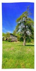 Old Barn, Smith Mountain Lake Hand Towel