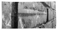 Old Belk Building In Great Falls, Sc 3 Bath Towel