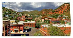 Old Bisbee Arizona Bath Towel
