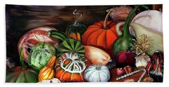 Old Bowl Cornucopia Hand Towel