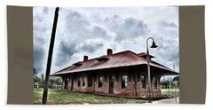 Old Burkeville Station Hand Towel