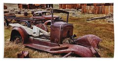 Old Cars Bodie Hand Towel
