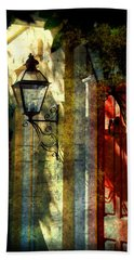 Old Charleston Sc Bath Towel by Susanne Van Hulst