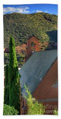 Old Church In Bisbee Bath Towel