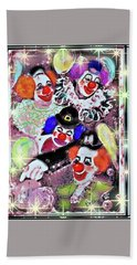 Old Circus Hand Towel by Desline Vitto