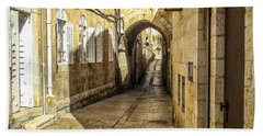 Shabbat Day Of Rest Jerusalem Israel Hand Towel